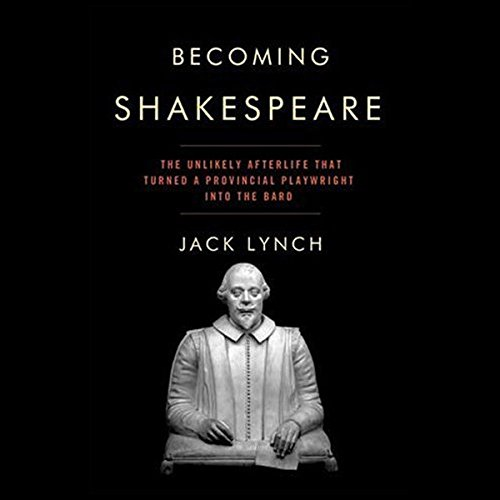 Becoming Shakespeare audiobook cover art