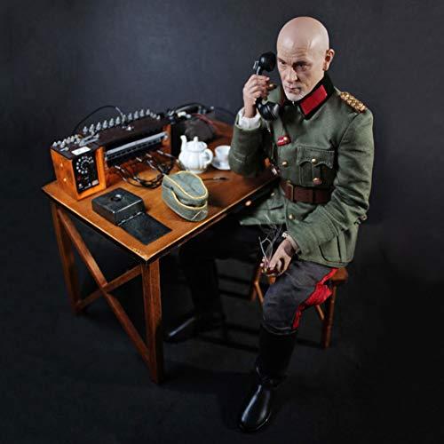 Mecotecn Figura de soldado de 1/6, 30 cm, juguete de soldados, figuras militares, modelo de soldados alemanes