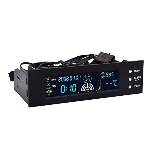 Qianson DC 12V 1A Automatic PC CPU Fan Temperature Control Speed JCF1201