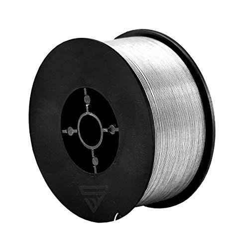 STAHLWERK MIG/MAG Premium Fülldraht Ø 0,8 mm, FLUX Schweißdraht E71T-GS, auf 1kg D100 Rolle mit 16mm Dorn, universell einsetzbar