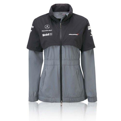 McLaren Dames Jas F1 Grijs Dames Jas XS S L XL RRP £149.95