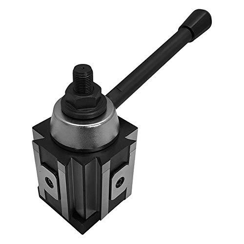 CNC draaibank Tool Holder, Piston Tool Post, eenvoudige combinatie Mini snelwisselbeitelhouder kit set, geschikt voor kleine draaibanken, kleine tool houders, Aanpassen Nuts and Tools