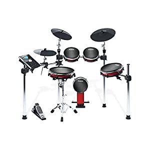 Alesis Crimson Kit e Di Drum Set, Drum Sticks, fruss macchina, Sgabello e Cuffie
