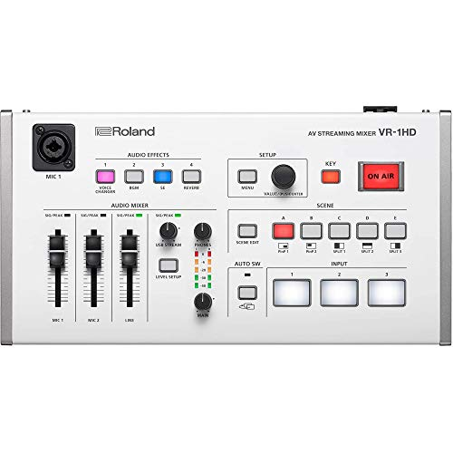 Roland VR-1HD AV Streaming-Mixer
