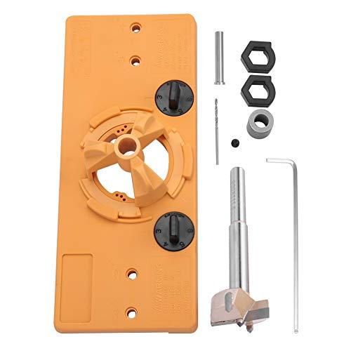 35mm bisagra taladro JIG Set guía, instalación de la puerta localizador de agujeros