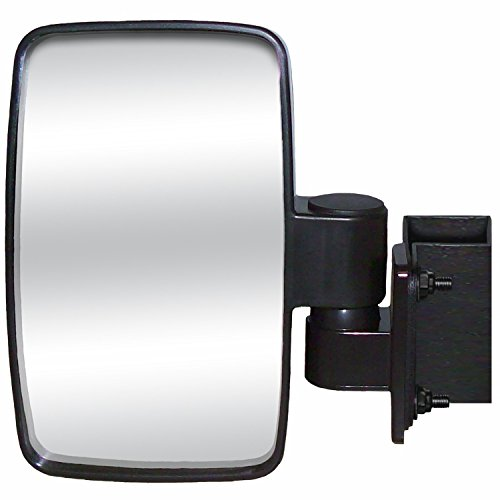 CIPA 01140 UTV Utility Vehicle 4.625 x 7.75 Inch Adjustable Side Mirror, Single