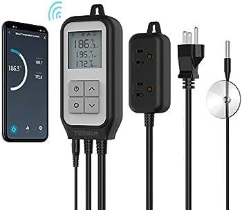 TESSAN Smart Plug-in Digital WiFi Temperature Controller