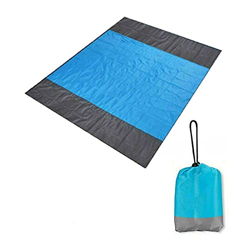 XIAOSHI Manta de Picnic Impermeable 2x1.4m 2x2.1m Pocket a Prueba de Agua Manta Portátil Portátil Pictning Mat Match Matter Camping Tienda de Camping Manta Manta de Picnic Grande