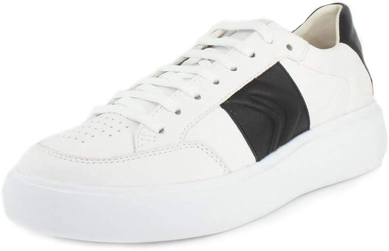 Geox Sportschuhe für Herren U927BB 08554 U OTTAYA C0404 Weiß-schwarz