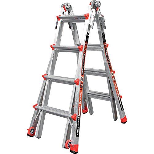 Little Giant Type 1A RevolutionXE Multi-Use Ladder - 17ft. Model Number XE M17