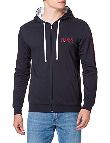 BOSS Authentic Jacket H Sudadera con Capucha, Dark Blue403, XXL para Hombre