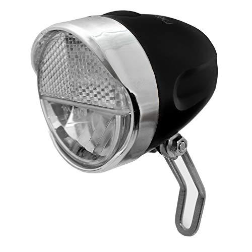 nean Fahrrad LED Frontleuchte Fahrradlampe Fahrradleuchte mit StVZO Zulassung inkl. Batterien, 30 Lux