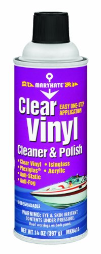 MaryKate MK6414 Clear Vinyl Cleaner and Polish