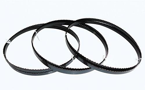 3 x Sägebänder Sägeband 2240 x 13 x 0,65 mm 4ZpZ Holz Elektra Beckum Metabo Güde