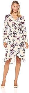 MINKPINK Women's Toulouse Floral Print Wrap Dress