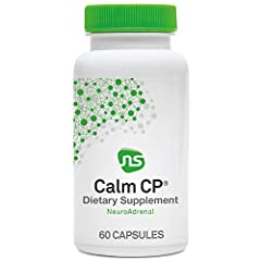 STRESS & ADRENAL SUPPORT - Calm CP is designed to decrease cortisol and provide ingredients important for calm, sleep, and management of blood sugar.* This groundbreaking blend includes phosphatidylserine, banaba leaf standardized to 2% corosolic aci...