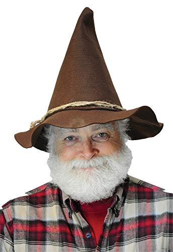 Jacobson Hat Company Scarecrow Hat With Rope Band,Brown,One Size