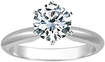 Best brilliant cut solitaire diamond ring Reviews