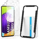 BEYEAH [3 Stück] Panzerglas Bildschirmschutzfolie für Samsung Galaxy A52 4G / A52 5G / A52S 5G Panzerglas, [Installationswerkzeug] [Anti-Öl] [Anti-Bläschen]