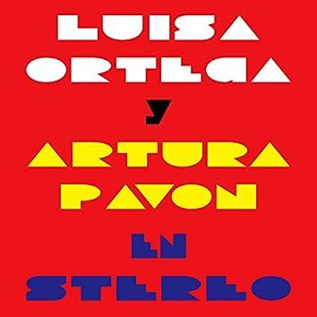 Luisa Ortega y Artura Pavon en Stereo
