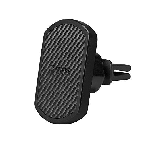 pitaka Supporto per Cellulare Magnetico MagMount Premium con Rotazione a 360 Gradi Supporto Auto per Smartphone Condotto dell'Aria