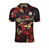 CRBsports Waikato Chiefs, Maillot De Rugby, 2018, Nouveau Tissu Brodé, Swag Sportswear (Noir, L)