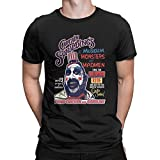 Captain Spaulding's T Shirt Museum of Monsters and Madmen Tees Tops Men Black