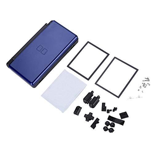 T osuny Vollständige Ersatzteile für Nintendo DS Lite, Gehäuse für tragbare Spielekonsolengehäuse, Game Machine Replacement Kit für NEUES NDSL mit kompaktem Erscheinungsbild(Blau)