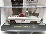 M2 Machines by M2 Collectible 1 of 750 Worldwide Chase Car with Special Wheels & Unique Design Coca-Cola 1973 Chevy Cheyenne 10 1:64 Scale A04 20-08 White/Red Details Like NO Other!