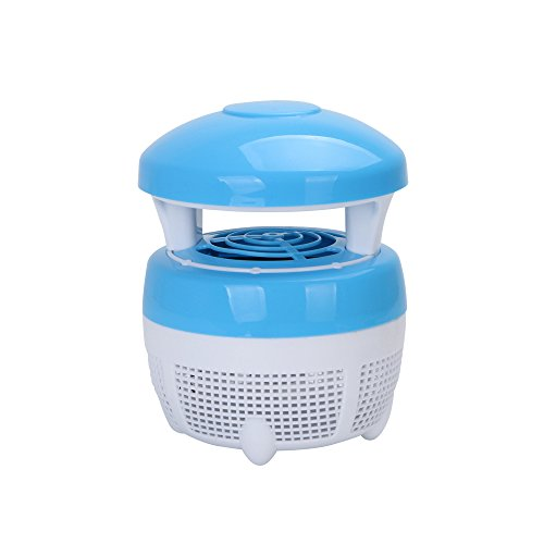 USB-muggenval, moorderlamp, babyslaap, led-wantsvanger, afweerapparaat, voor hoofdgebruik, fysieke insecten, blokkeergereedschap met het aantrekkelijk UV-licht, veilig voor baby/gravida/kinderen