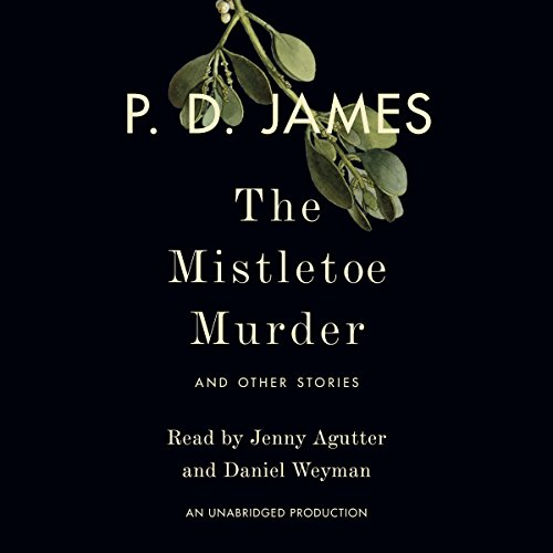 The Mistletoe Murder audiobook cover art