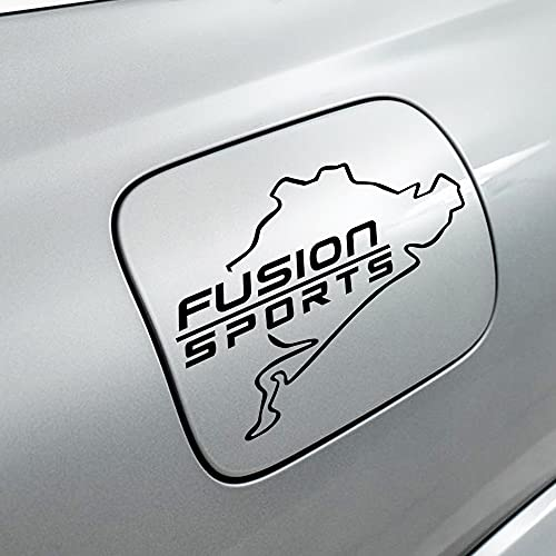 1 Uds.Pegatina Decorativa De Tapa De Tanque De Combustible CalcomaníAs De Tanque De Aceite Etiqueta De Estilo De Coche, Para Ford Fusion