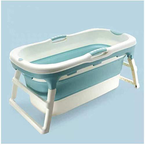 Woodtree Plegable portátil de bañera, empapando Plegable Bañera for Plato de Ducha...