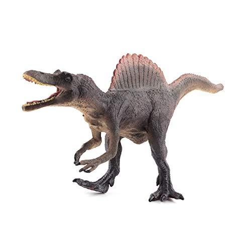 Sipobuy Dinosaur Spinosaurus Toys, Modelo de Dinosaurio estático Grande, Regalo Ideal para niños, niños y niños, Gris