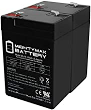 Mighty Max Battery 6V 4.5AH SLA Replacement Battery for Yuntong YT-645-2 Pack Brand Product