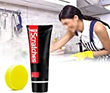 ScratchFree Stove Top Scratch Remover, Stove Top Scratch Remover Polishing Wax, Polisher, Cleaner for Everyday Use 100 ml - Removes Day-to-day Grime after Cooking for - Every Type of Hob and Cooktop