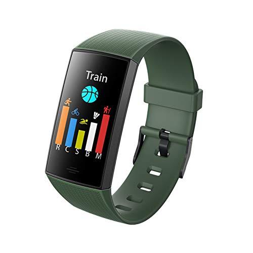 NEGJSDFG Intelligente Uhr Big Color Screen Smart Armband Blutdruckmessung Wasserdicht Die Daten sind absolut genau und die Akkulaufzeit ist länger!
