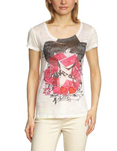 Custo - Camiseta para Mujer, Talla 40/42, Color (Viola 880)