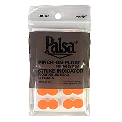 Yellowstone Fly Goods, Palsa Strike Indicator Pinch-on-Floats, 24 Count (Color Choice)