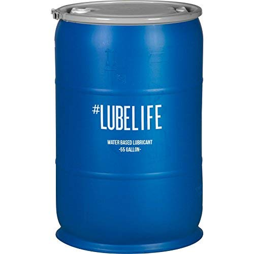 #LubeLife Water Based Personal Lubricant, 55 Gallon Sex Lube for Men, Women and Couples