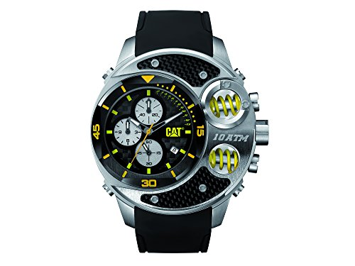 CAT Relojes hombre DU14321127 DU54 analógico pantalla negro plata