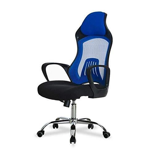 MHIBAX Gaming Chair Sedia daufficio Sedia ergonomica moderna e minimalista sedia per computer traspirante soggiorno sede di casa sedia del personale dell'ufficio può essere sollevata a