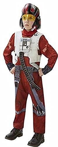 Rubie's Poe - X-Wing Fighter - Deluxe - Di Star Wars Il Potere Della Forza Risveglia - Bambini Costume - 13-14 Anni