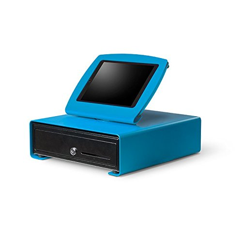 iZettle/PayPal hier Farbe POS Bundle–INKLUSIVE Tablet Ständer, Cash Schublade und Auswahl der Drucker. Blue - Bluetooth Printer