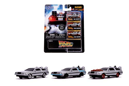 Jada Back to The Future Nano 3 Pack, 253251002