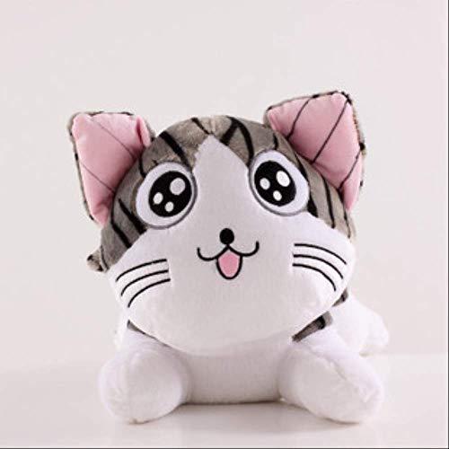 WLYY Gato muñeca de Postura para Dormir Dulce muñeca de Gato Privado Juguete de Peluche Regalo de cumpleaños Femenino 100cm Ojos Redondos sacando la Lengua