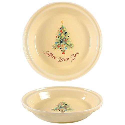 Fiesta Christmas Tree Pie Dish