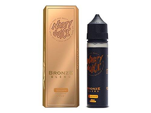 国内正規品 Nasty Juice Tobacco ナスティージュース VAPE 電子タバコ リキッド マレーシア産 (Bronze Blend, 60ml)