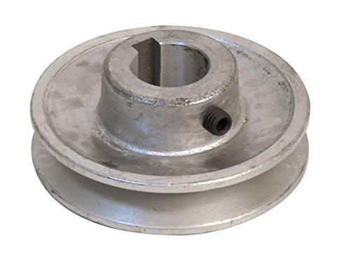 Fartools 117245 - Polea (aluminio, diámetro 80 mm, calibre 24 mm)