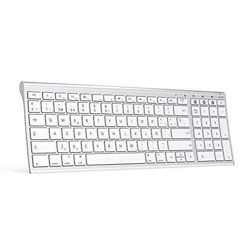 Teclado inalámbrico con 3 Bluetooth para MacBook